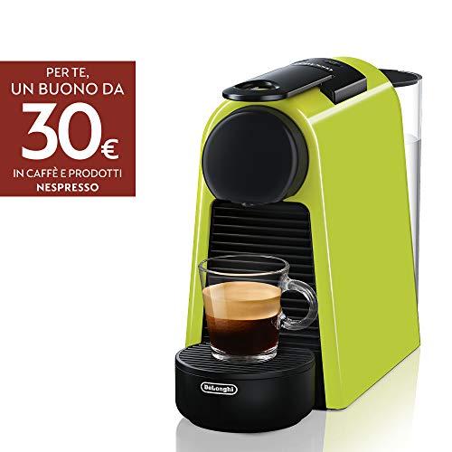 Nespresso Essenza Mini De'Longhi EN85.L Macchine del Caffe, 1370 watt, Lime