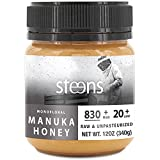 this steens manuka honey is used to cure acne