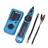ACEHE Rj11 Rj45 Cat5 Cat6 Rastreador de Cables telefónicos TR Toner Ethernet LAN Cable de Red Tester Detector Buscador de línea