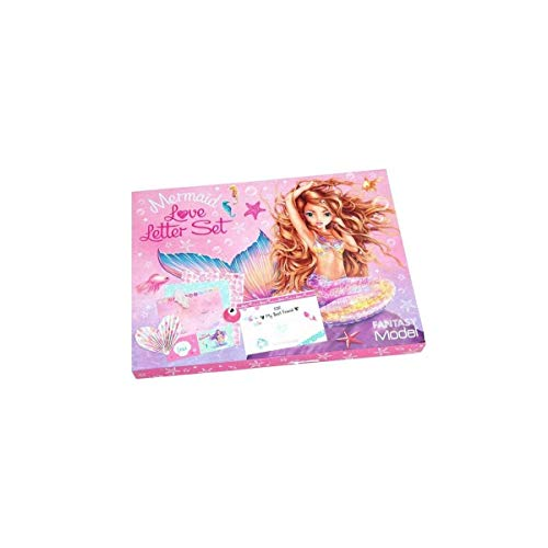 Top Model Fantasy Model Love Letter SetMermaid (0010473), Multicolor (DEPESCHE 1)