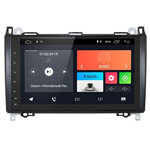 Laicve 2 DIN Autoradio-DSP für Mercedes Sprinter/Vito W639 / Viano / B200 / B150 / B170 / A180 / A150 / B-Klasse W245 / A-Klasse W169 GPS-Navigations-FM AM Radio Carplay USB SD Parks Kamera