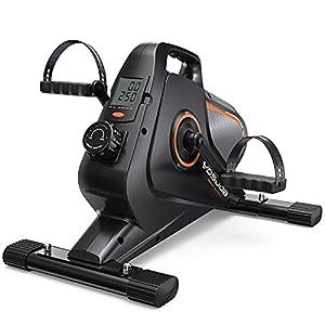 YOSUDA Under Desk Bike Pedal Exerciser - Magnetic Mini Exercise Bike for Arm /Leg Exercise, Desk Pedal Bike for Home/ Office Workout by YOSUDA