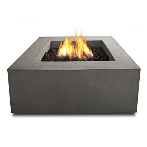 Real Flame T9620NG-GLG Baltic Square Natural Gas Table,...