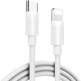 Lerdithge USB Type C to lightning 変換 1m USB C iPhone 変換 充電 ケーブル iPhone 充電ケーブル ライトニングケーブル PD(Power Delivery)対応 高耐久 高速データ転送 2A 急速充電 最新のIOS 12 iphone XS/XS MAX/XR/8/7/6/ipad 対応(ホワイト)