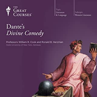 Dante's Divine Comedy                   Written by:                                                                                                                                 The Great Courses,                                                                                        Ronald B. Herzman,                                                                                        William R. Cook                               Narrated by:                                                                                                                                 Ronald B. Herzman,                                                                                        William R. Cook                      Length: 12 hrs and 20 mins     8 ratings     Overall 4.9