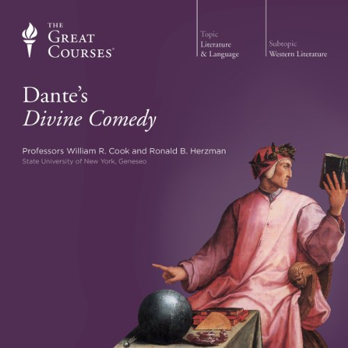 Dante's Divine Comedy audiobook cover art