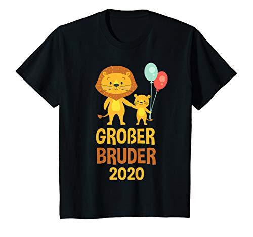 Kinder Großer Bruder 2020 TShirt Löwe T-Shirt