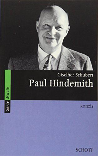 Paul Hindemith: konzis (Serie Musik)