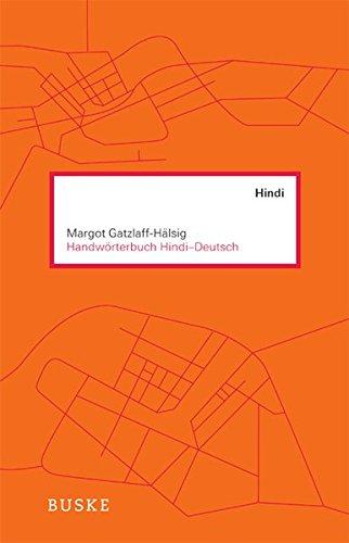 Handwörterbuch Hindi - Deutsch