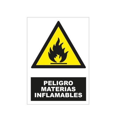 S21 Señalización ADR2085.G Señal peligro materias inflamables, Multicolor