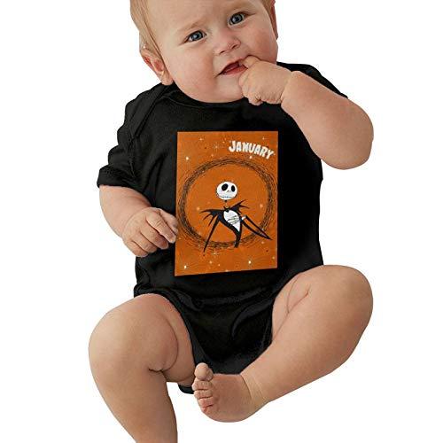 Inaayayi Enterizo de bebé La Pesadilla Antes de la Navidad Body Unisex Babys Undershirts Bodysuits