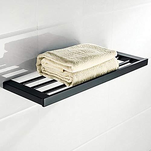 IUYJVR Rack de baño Toallato de baño Accesorios de baño Conjunto/Toalla Bar/Barco de baño Nuevo diseño/Frío/Multifunción Moderno/Antiguo Acero Inoxidable 1 - Cuarto de baño Instalación de un
