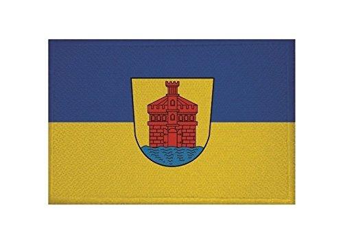 U24 Aufnäher Merseburg Fahne Flagge Aufbügler Patch 9 x 6 cm