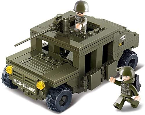 Sluban CONSTRUCCIÓN Set - Nueva Serie EJÉRCITO - vehículo de la Patrulla M38-B0297
