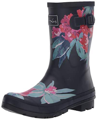 Tom Joule Damen Molly Welly Gummistiefel, Blau (Navy Floral Navyfloral), 39 EU