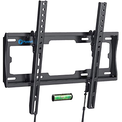 Tilt TV Wall Mount Bracket Low Profile for Most 23-55 Inch LED LCD OLED Plasma Flat Curved Screen TVs, 8 Degrees Tilting for Anti-Glaring, Max VESA 400x400mm and Holds up to 99lbs by Pipishell. Buy it now for 19.96