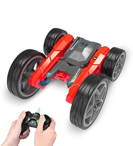RC Stunt Cars Remote Control Car Toys for Kids, 4WD Double Sided Fancy Rotating 360° Flips Vehicles, Toy Gifts for Boys & Girls