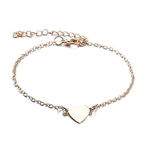 Burenqi Oorbel Trendy Eenvoudige Sieraden Sets Voor Vrouwen Hart Gevormd Goud/Zilver Kleur Ketting Ketting & Armband 2 Stks Sieraden Set Vrouwelijk