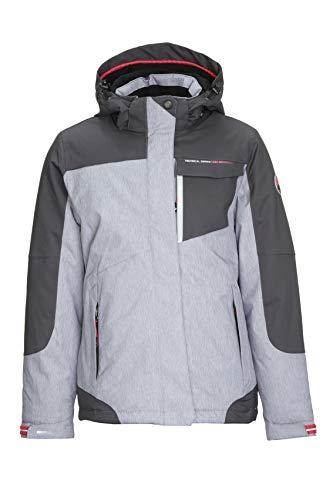 Killtec Nailah Jr Ski-jack voor meisjes, functionele jas met afritsbare capuchon en sneeuwvanger