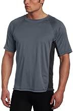 Kanu Surf Men's CB Rashguard UPF 50+ Swim Shirt (Regular & Extended Sizes), Charcoal, X-Large