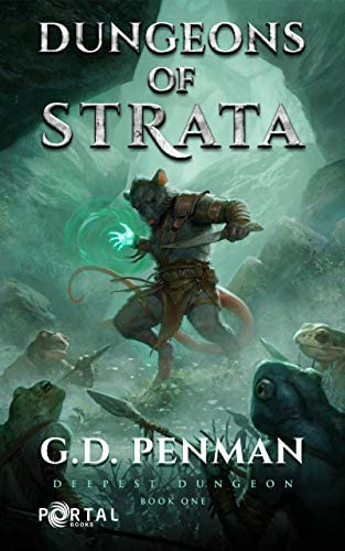 Dungeons of Strata Deepest Dungeon 1 A LitRPG series product image