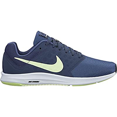 Nike Women's Downshifter 7 Running Shoe Blue Recall/Barely Volt/Thunder Blue Size 10 M US
