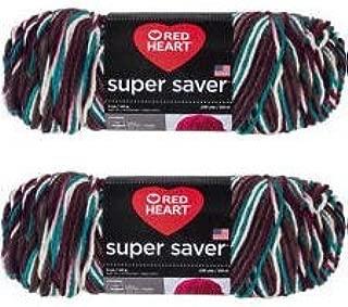 Bulk Buy: Red Heart Super Saver (2-pack) (Antique, 5 oz each skein)