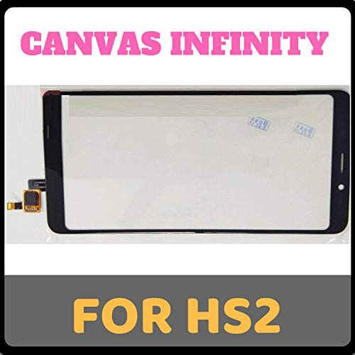 GADGETCARESOLUTIONS GCS Touch Screen Digitizer for Micromax Canvas Infinity HS2 (Black)