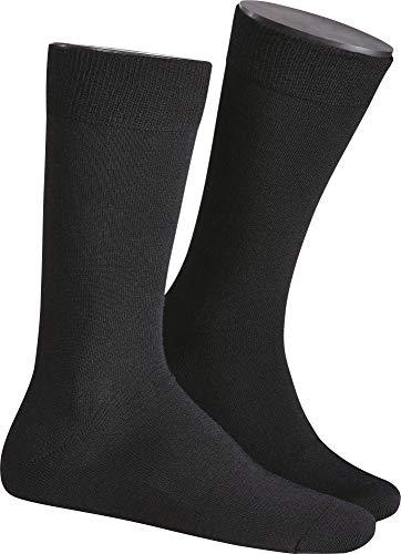 KUNERT Herren Socken, 873400 Wool Care, Gr. 39/42, Grau (Anthrazit Mel. 4050)