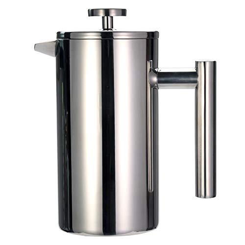 Sale!! TYI -Stainless Steel French Press Coffee Machine, Espresso Press, 1000Ml (24Oz) Double-Layer ...