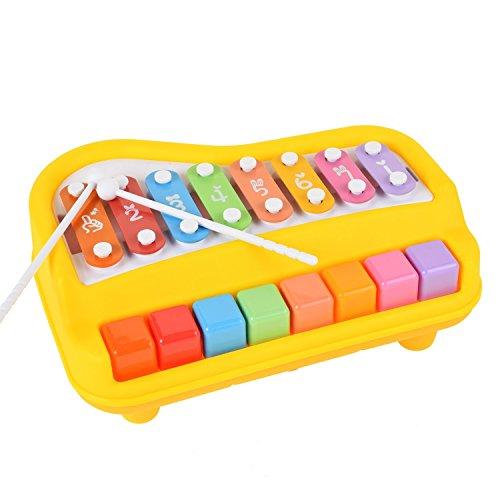 Kids Piano, aPerfectLife Kids Keyboard Piano 37 Keys Multi-function Electronic Organ Musical Keyboard (Yellow)