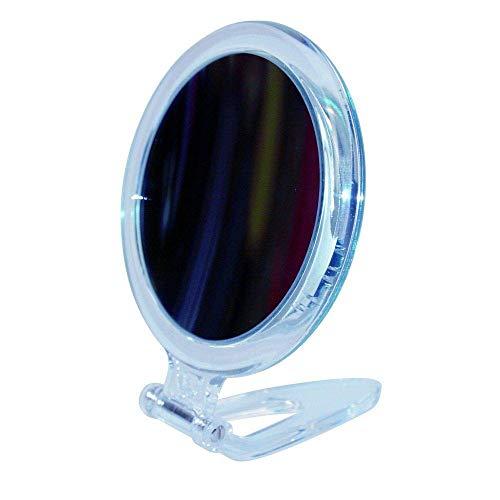 10x Grossissement Circulaire Acrylique Voyage Pliant Compact Miroir