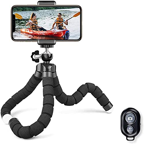 BaoLuo Smartphone Statief | Licht en flexibel | Voor smartphones, GoPro camera's, verrekijkers en als selfiestick | Ideaal voor op reis