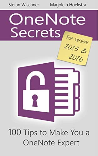 OneNote Secrets 100 Tips for OneNote 2013 and 2016 product image