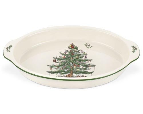 Spode Christmas Tree Au Gratin Plat