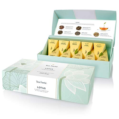 Tea Forte Box with 10 Pyramid Tea Infusers