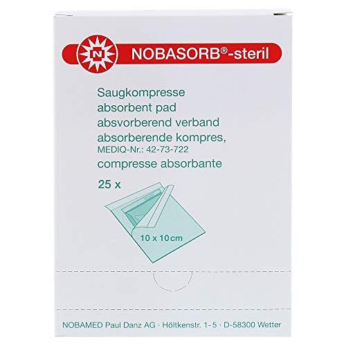NOBASORB-steril Saugkompressen 10x10 cm P1