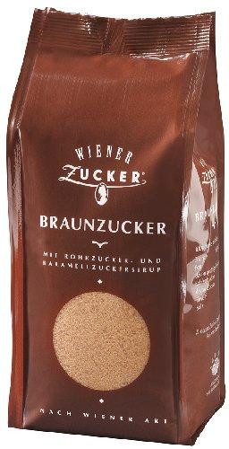 5x Wiener Zucker - Braunzucker - 500g