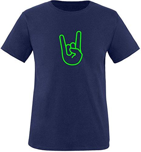 EZYshirt® Rock Hand Kinder T-Shirt