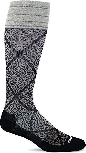 Sockwell Women's The Raj Firm Graduated Compression Sock, Black - M/L