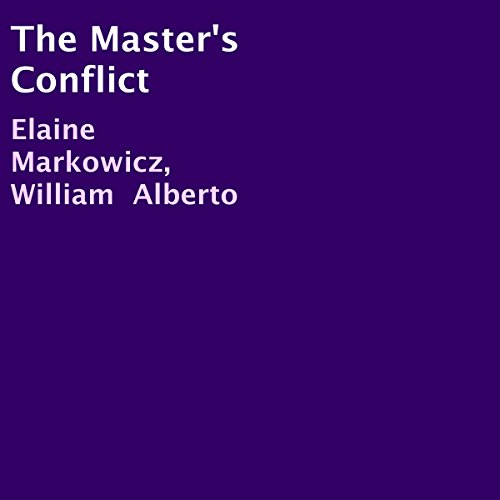 The Master's Conflict audiobook cover art
