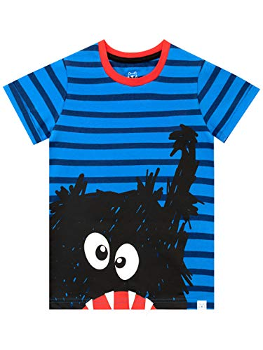 Harry Bear Jungen Monster T-Shirt Blau 104