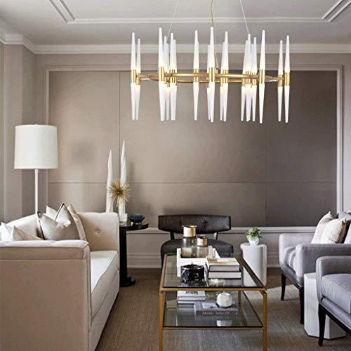 Deckenleuchte Postmoderner zeitgenössischer Kronleuchter im nordischen Stil Einfaches kreatives Esszimmer Schlafzimmer Wohnzimmer Deckenleuchte Personalisierter Kunstleuchter