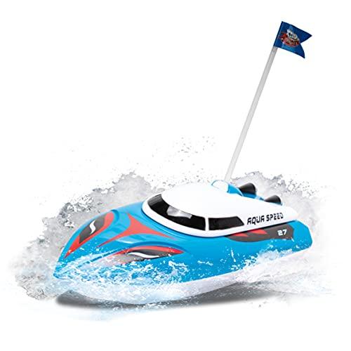 Xtrem Raiders- Aqua Speed, Barco Teledirigido, Barcos Teledirigidos, Lancha Teledirigida Agua, Lanchas Teledirigidas, Juguetes para Niños, Barco Radiocontrol, Boat RC