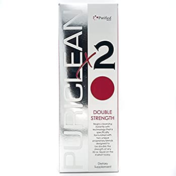 Puriclean X2 Same-Day Detox Drink Instant Cleansing Technology - Specifically formulated W/Two Unique Proprietary Blends Designed to Be Double The Strength of Any 32 Oz Liquid On The Market  1 Pack