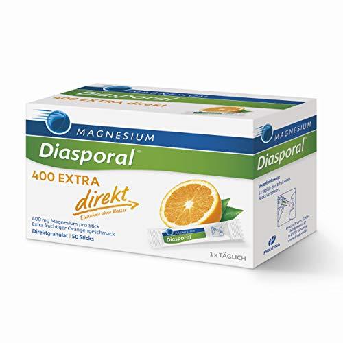 Magnesium-Diasporal 400 EXTRA direkt: Das Direktgranulat der EXTRA-KLASSE mit 400 mg Magnesium pro Stick, 50 Sticks