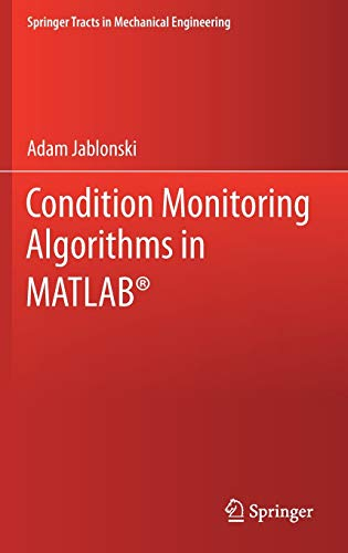 Condition Monitoring Algorithms in MATLAB Front Cover