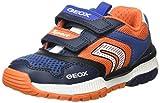 Geox J Tuono Boy A, Zapatillas para Niño Niños, Azul (Marino/Naranja), 31 EU