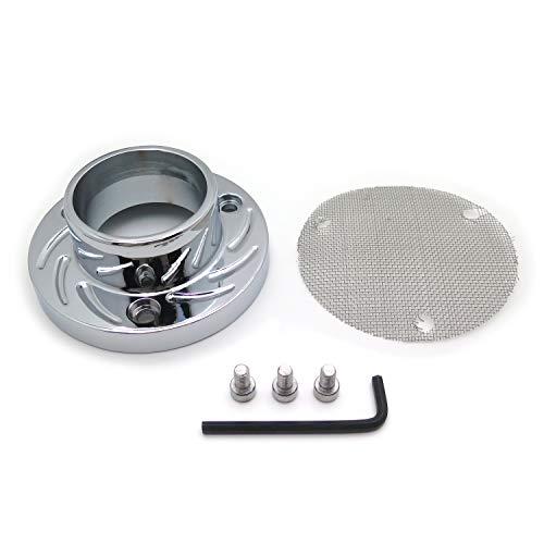 HTTMT MT272-006- Exhaust Outlet Power Tip Pipe Compatible with Artic Cat DVX400 Kawasaki KFX400 Suzuki LTZ400