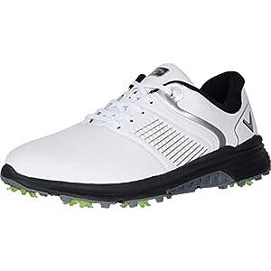Callaway Men's Solana TRX Golf Shoe, White, 10